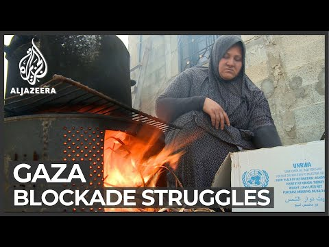 Gaza residents call for solutions amid blockade