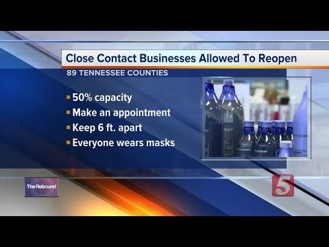 Salons, barbershops reopen at half capacity in 89 Tennessee counties